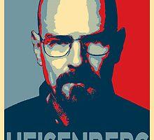 Obamized Mr Heisenberg (Red) by miki1510