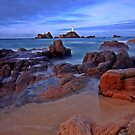 Corbiere high tide  by Gary Power