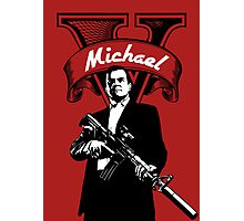 GTA 5 - Michael  Photographic Print