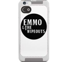 Emmo and the Wipeouts - Black version iPhone Case/Skin