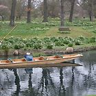 punting in the park by ItsAnOddWorld