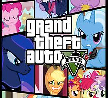 GTA V: Pony edition by PinkiexDash