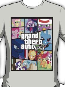 GTA V: Pony edition T-Shirt