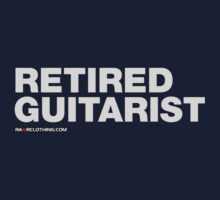 Retired Guitarist by rawrclothing