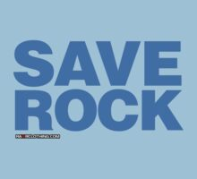 Save Rock by rawrclothing