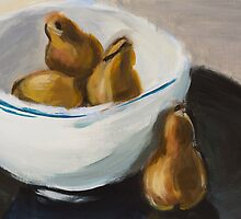 study of pears by Philip Painter
