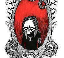 Black Metal Family Portrait by wolfishWorks