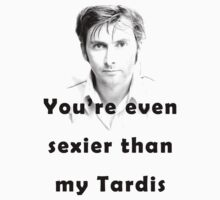 Time Lord Pick-Up Lines #5 by Alex Carvalho
