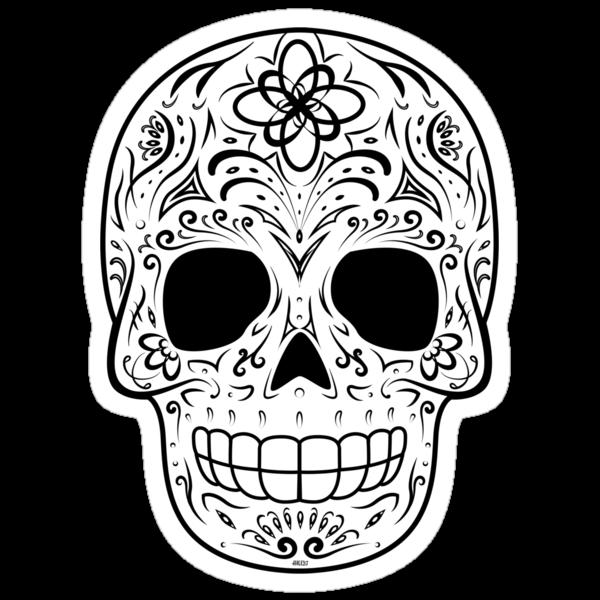 hmx23 › Portfolio › Sugar Skull - Traditional
