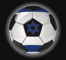 Israel - Israeli Flag - Football or Soccer by graphix