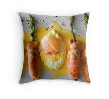 Egg & Bacon Throw Pillow