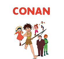 Conan Future Boy by Ommik
