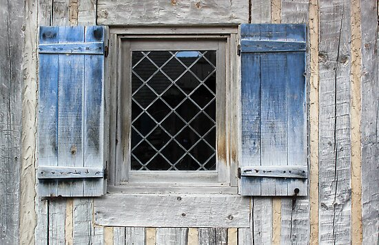 Blue Window by marybedy