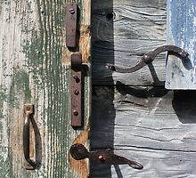 Window and Door Hardware Green by marybedy