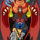 Evil in the Realm of D n D by monsterfink