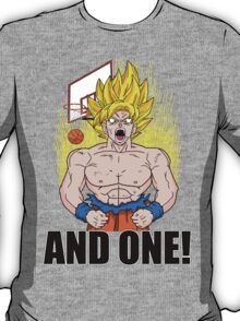 "Super Saiyan ""And One"" (Light Colors) T-Shirt"