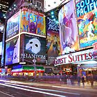 Times Square Broadway by juliagreco