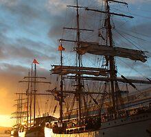 Tall Ships - Tasmania,  21 Sept 2013 by gaylene