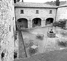 The Tuscan Courtyard by Adrian Alford Photography