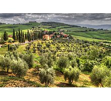 Tuscany, Itlay Photographic Print