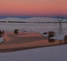 Mackenzie Country at Sunset by Linda Cutche