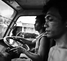 Truck Trip by Romain Tourte