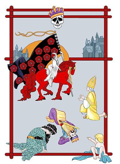 The Death Card by redqueenself