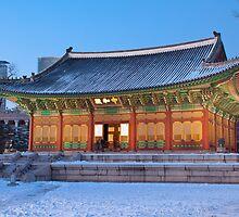 Deoksugung Palace, Seoul, South Korea by Belle  Nachmann
