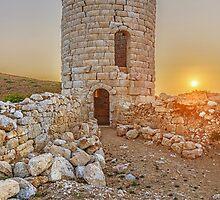 The ancient tower of Drakano, Ikaria, Greece. by Daniel Mikael Chatzis