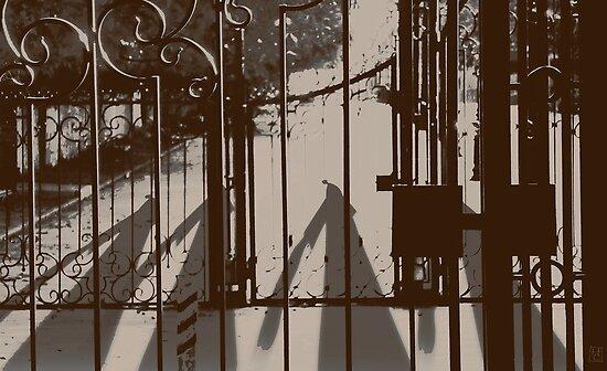 by the gate by Nikolay Semyonov