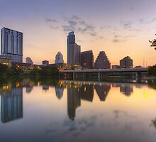 Austin Images - the Austin Skyline from Ladybird Lake 4 by RobGreebonPhoto