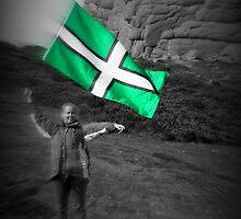 Flying The Flag For Devon by Beverley Barrett