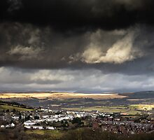 A Storm Approaches in the Welsh Valleys by Heidi Stewart
