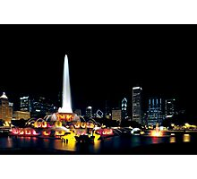 Chicago Buckingham Fountain Photographic Print