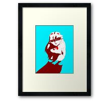 I AM NOT YOUR DOLL Framed Print