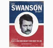 Vote For Ron Swanson by jordy67r