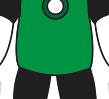 Little Big Green lantern Sticker