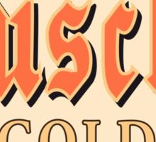 Dusche Gold Sticker