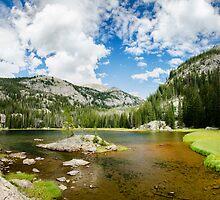 Lone Pine Lake - Rocky Mountain National Park, Colorado by Jason Heritage