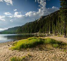 Lake Verna Beach - Rocky Mountain National Park, Colorado by Jason Heritage