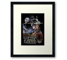 TIME LORD Episode IV Framed Print