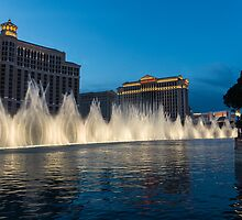 The Fabulous Fountains at Bellagio, Las Vegas by Georgia Mizuleva