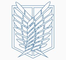 Scouting Crest - Colored Lines by gtooth