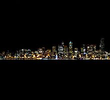 Seattle from Afar by Kevin Fedde