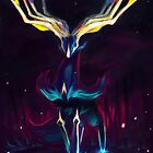 Xerneas by fireredgyarados
