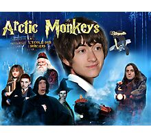 Arctic Monkeys Harry Potter Poster Photographic Print
