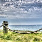 A view of Lake Michigan, Near South Beach, South Haven, MI by Rocco Goff