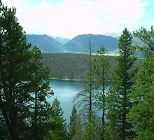 Dillon Reservoir - Summit County, Colorado by naturescopes