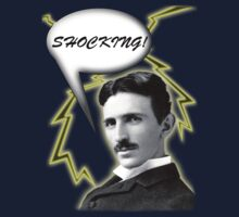 Tesla is Shocking Baby! by chaunce