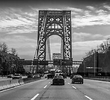 George Washington Bridge - New York City by Richard Thelen